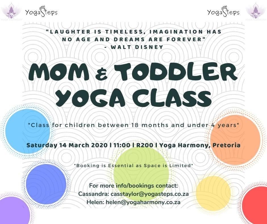 mom and toddler workshop